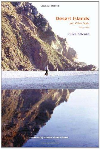 deleuze desert islands